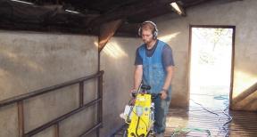 Opruwtechniek opruwen betonvloeren en betonroosters 02
