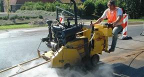 Zagen asfaltzagen 02