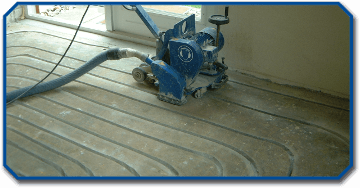 Bewerken - Frezen vloerverwarming
